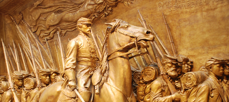 Photo from MALKIN LECTURE: Augustus Saint-Gaudens' Shaw Memorial on August 26, 2014