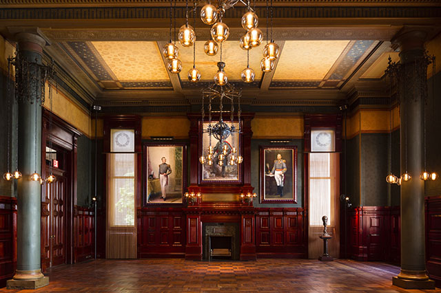 The Reception Rooms In Park Avenue Armory Were Designed By Greatest Designers Of Americas Gilded Age Including Louis Comfort Tiffany