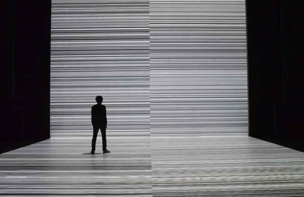Photo from Artist Talk: Ryoji Ikeda in Conversation with Kristy Edmunds on May 21, 2011