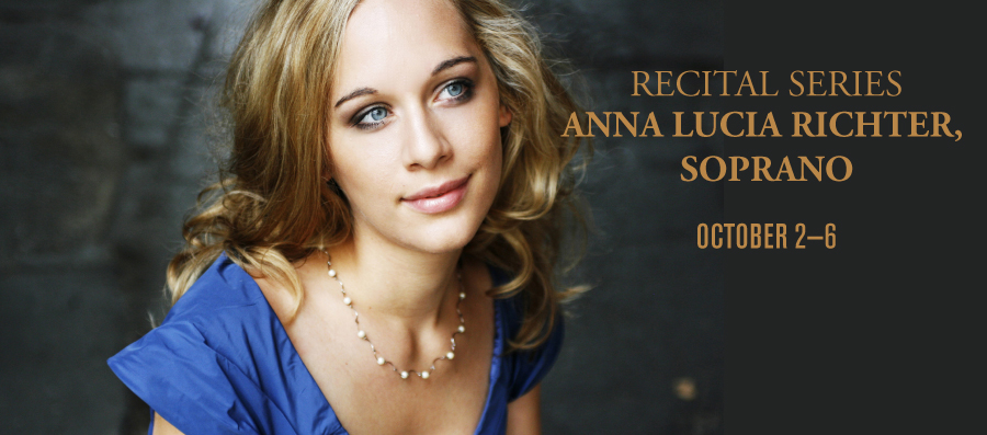 Recital Series: Anna Lucia Richter