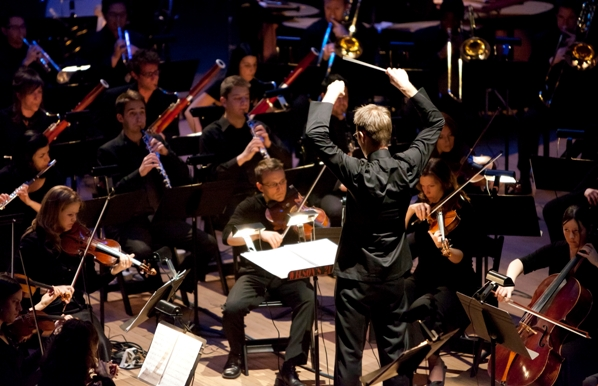 Tune-In Music Festival: Paul Haas directs ARCO Photo: James Ewing