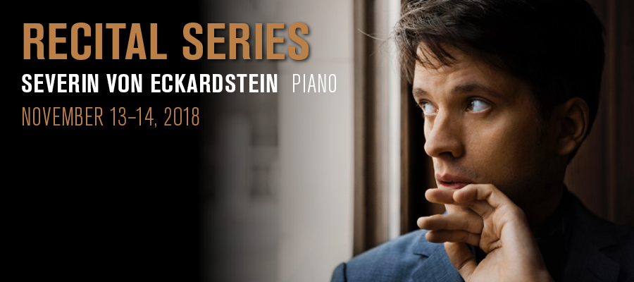 Recital Series: Severin von Eckardstein : Program & Events : Park ...