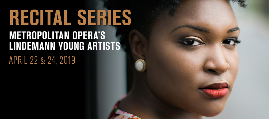 Recital Series: 2019 Lindemann Young Artists