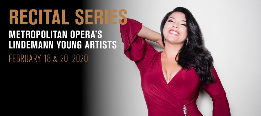 Recital Series: 2020 Lindemann Young Artists