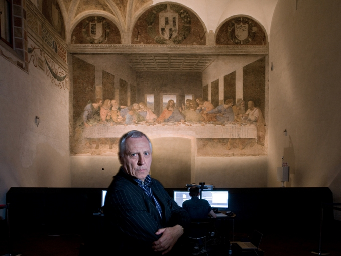 Photo from Artist Talk: A Conversation with Peter Greenaway on December 4, 2010