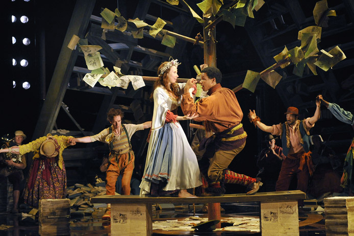The Royal Shakespeare Company: The Winter's Tale - July 6 &#8212; August 14, 2011 <br> Photo by Stephanie Berger