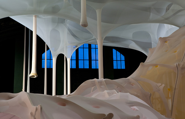 Photo from Ernesto Neto: anthropodino on May 14, 2009